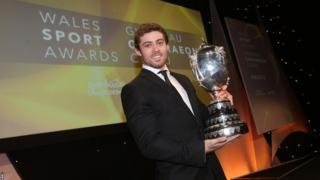 Leigh Halfpenny's remarkable year was recognised at the first Wales Sport Awards, voted BBC Cymru Wales Sports Personality 2013.