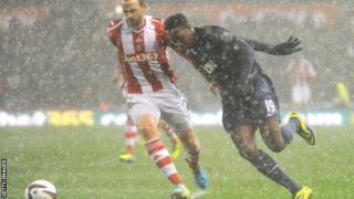 Hail stops play