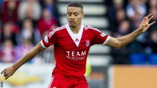 Aberdeen's on-loan defender Michael Hector