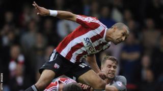 Brentford forward Farid El Alagui