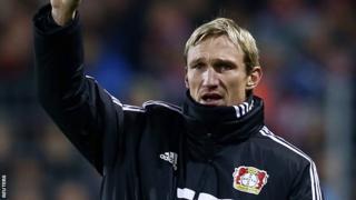 Leverkusen boss Sami Hyypia