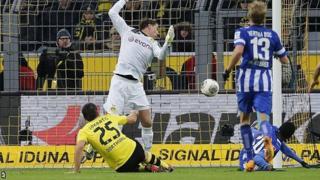 Hertha Berlin score