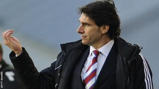 Middlesbrough boss Aitor Karanka