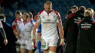 Dejected Ulster lock Dan Tuohy after the Dublin defeat