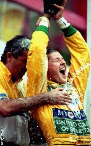 Belgium 1992: Michael Schumacher