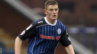 Rochdale's on-loan Blackburn Rovers defender Jack O'Connell