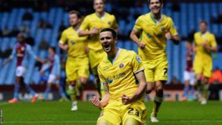 Jamie Murphy of Sheffield United