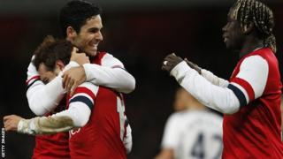 Arsenal to host Coventry in FA Cup fourth round