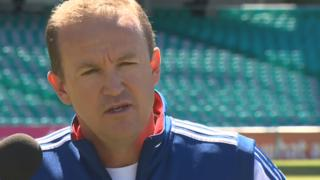 England coach Andy Flower