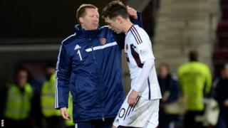 Hearts are bottom of the Scottish Premiership
