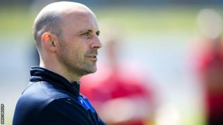 Colin Cameron is to be the new boss at Berwick Rangers
