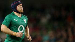 Sean O'Brien of Leinster and Ireland