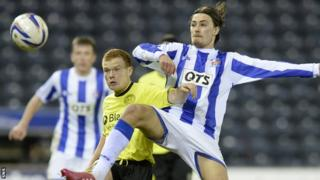 Jackson Irvine has played in 18 games since joining in Kilmarnock