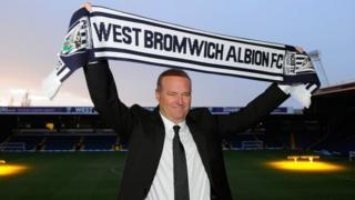 West Brom manager Pepe Mel