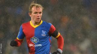 Crystal Palace midfielder Jonathan Williams