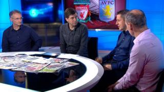 Pat Nevin, Mark Chapman, Steve Bower and Jason Burt