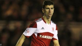 Middlesbrough defender Daniel Ayala