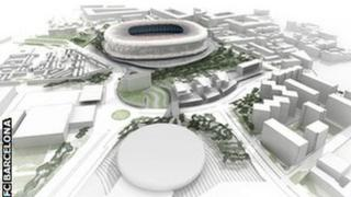 How the Nou Camp will look