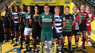 Leicester Tigers captain Toby Flood at the 2013/14 Premiership launch