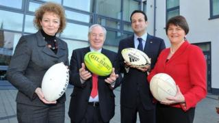 Ministers from Stormont and Dublin