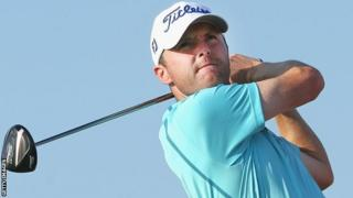 Michael Hoey in action at the Qatar Masters
