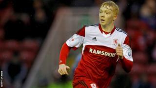 Middlesbrough's Luke Williams