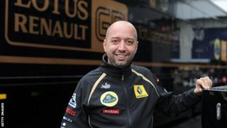 Lotus co-chairman and new team principal Gerard Lopez