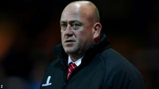 Kidderminster Harriers manager Andy Thorn