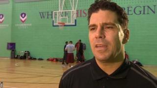 Leicester Riders head coach Rob Paternostro