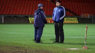 Windsor Park passed a pitch inspection