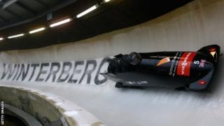 Great Britain's bobsleigh team