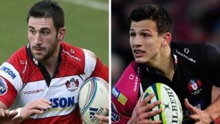 Gloucester duo Matt Cox (left) and Ryan Mills