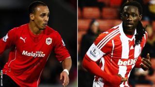 Peter Odemwingie has joined Stoke in a swap deal that has seen Potters striker Kenwyne Jones go the other way