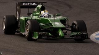 Caterham's new F1 car