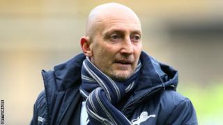 Millwall boss Ian Holloway