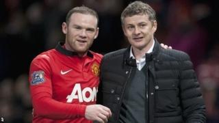 Wayne Rooney and Ole Gunnar Solskjaer