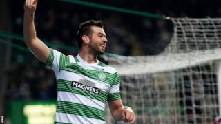 Celtic midfielder Joe Ledley