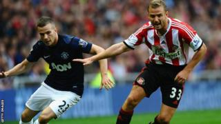 Sunderland's Lee Cattermole