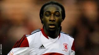 Middlesbrough striker Marvin Emnes