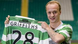 Leigh Griffiths at Celtic Park