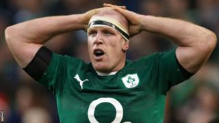 Paul O'Connell was a late withdrawal from Ireland's game against Scotland because of a chest infection