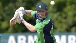 Niall O'Brien top-scored for Ireland with 35 in the defeat by Jamaica