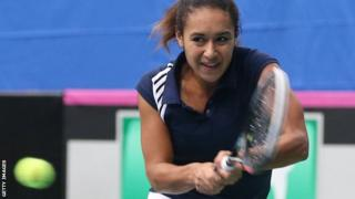 Great Britain's Heather Watson