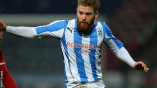 Huddersfield midfielder Adam Clayton