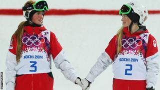 Chloe Dufour-Lapointe and Justine Dufour-Lapointe