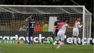 Thiago Silva scores own goal