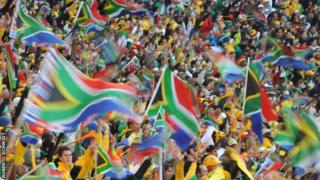 South African fans