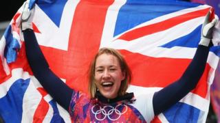 GB's Lizzy Yarnold storms to Olympic skeleton gold