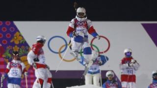 Russian ski cross racer Maria Komissarova