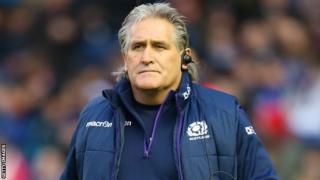 Scotland head coach Scott Johnson